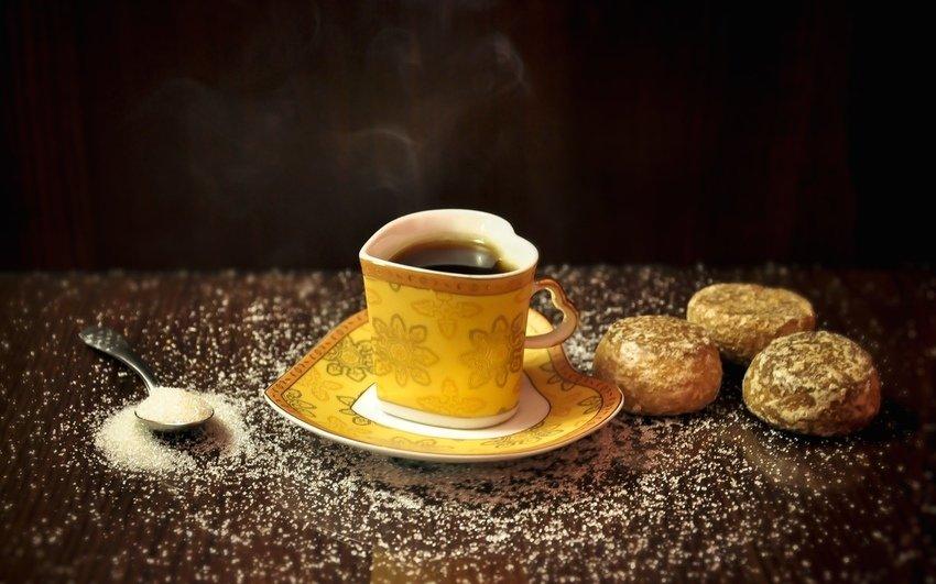 Пряничный чай с ванилью
