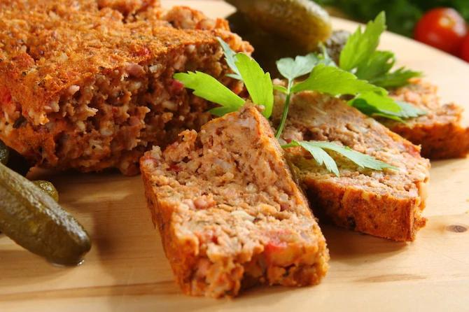 Мясной хлеб — просто и вкусно!