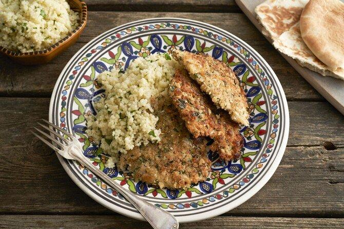 Рецепт из Израиля — куриный шницель