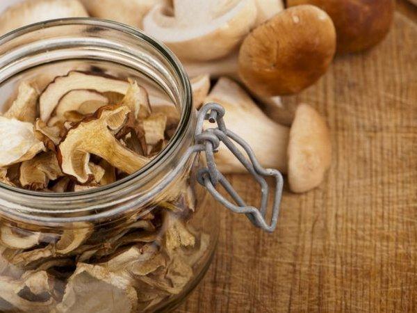 Как сушить грибы?