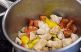 азиатский овощной суп шаг 4