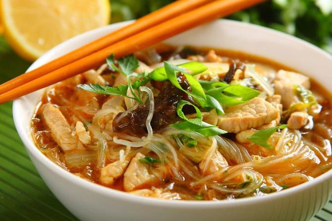 Китайский суп сечуань