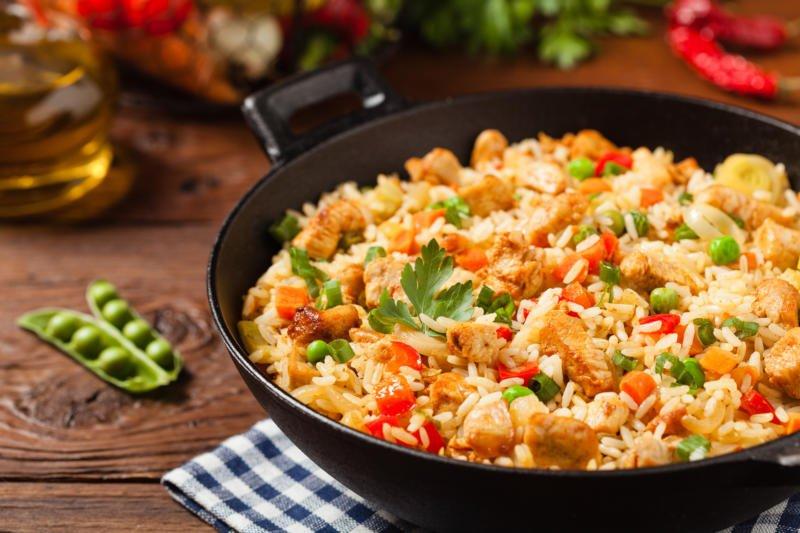 Жареный рис — секреты приготовления из Азии