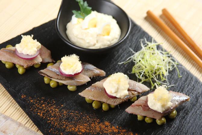 Отличная японская закуска из сельди