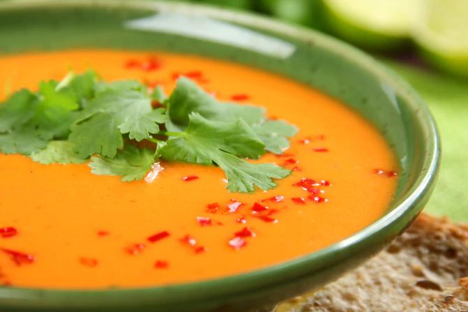 Индийский томатный суп