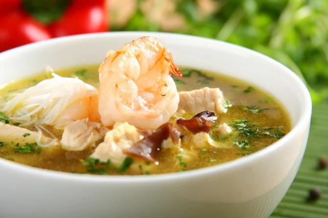 Серебряный китайский суп