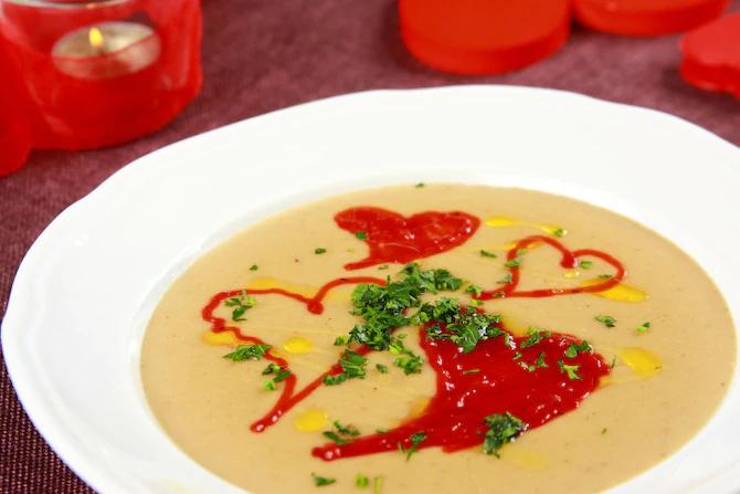 Суп Казанова или белый гриб с оттенком трюфеля