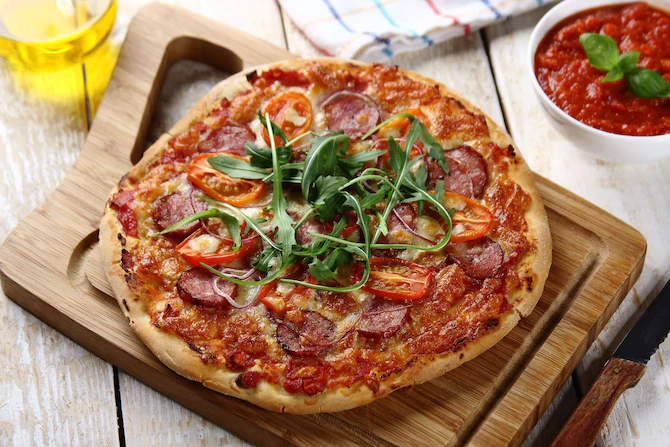 Домашняя пицца — просто и вкусно!