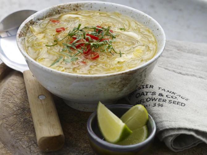 Тайский суп чили