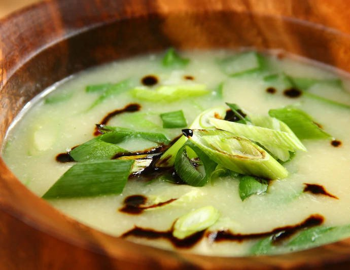 Азиатский яичный суп