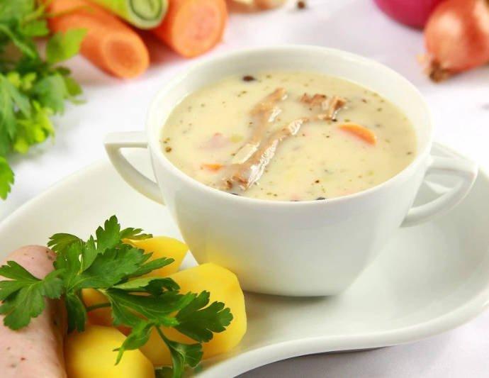 Старопольский кисло-ржаной суп