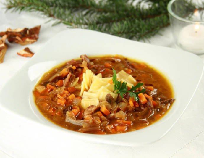 Габриэль — грибной суп