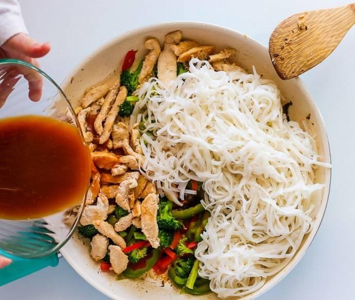 Рисовая лапша — как приготовить, сколько времени нужно?
