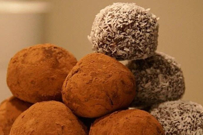 Какао трюфели