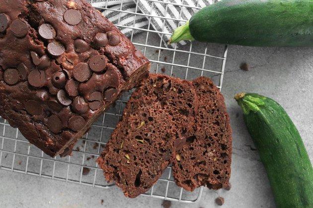 Рецепт хлеба с цуккини и шоколадом
