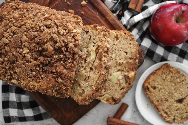 Рецепт домашнего яблочного хлеба