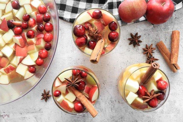 Рецепт яблочного сидра и сангрии