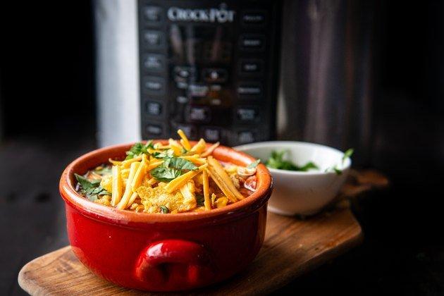 Рецепт куриного супа энчилада