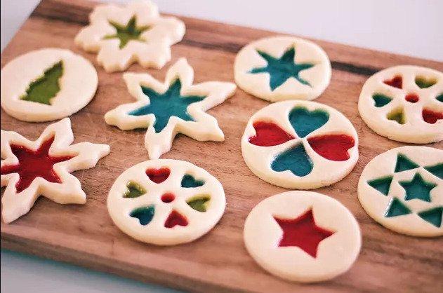 Витражное печенье своими руками
