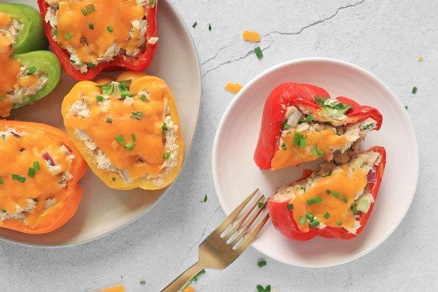 Рецепт фаршированного перца с тунцом