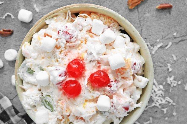 Традиционный рецепт салата Амброзия