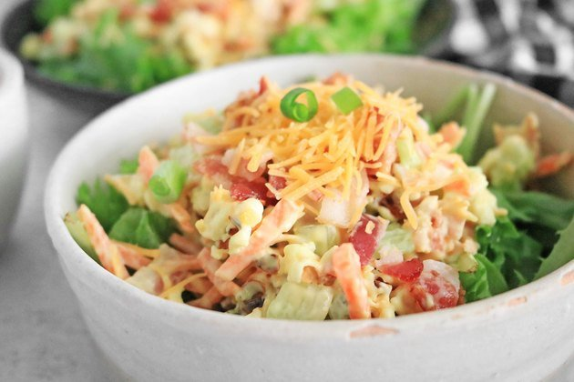 Как приготовить салат из попкорна