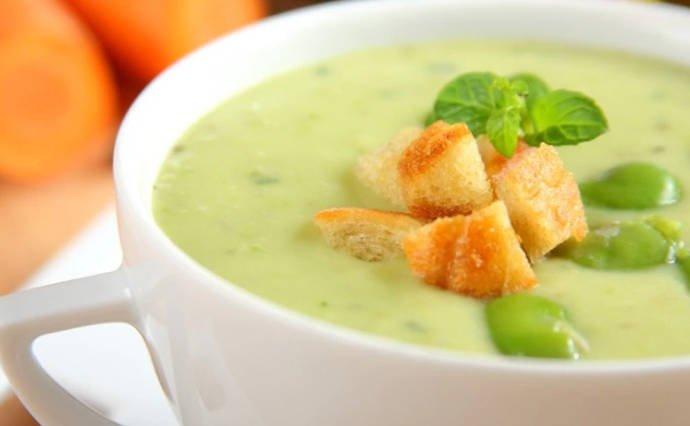 Бобовый крем-суп